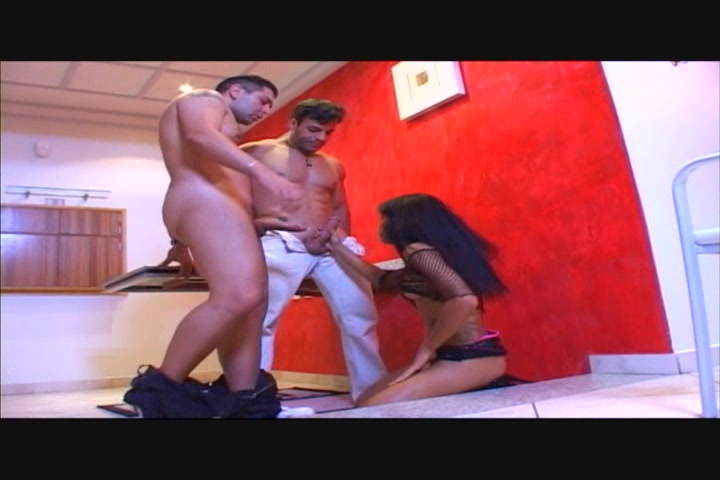 Perversion Jazz duros blowjob