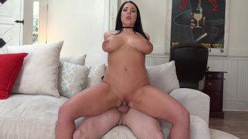 Australian Sex Goddess Angela White Bangs Lucky Guy on a Tinder Date.