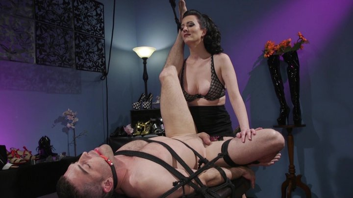 Streaming porn video still #1 from Divine Bitches 27: Pegging For Mercy