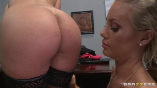 Streaming porn video still #1 from Big Tits At Work Vol. 18
