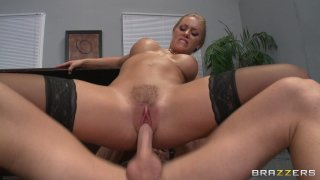 Streaming porn video still #8 from Big Tits At Work Vol. 18