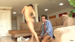 Streaming porn scene video image #5 from Sexy Stepdaughter Gracie Glam Teases Her Stepfather