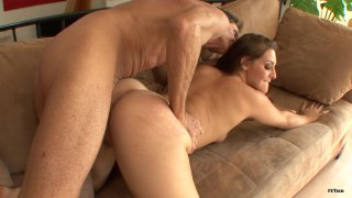 Streaming porn scene video image #8 from Sexy Stepdaughter Gracie Glam Teases Her Stepfather