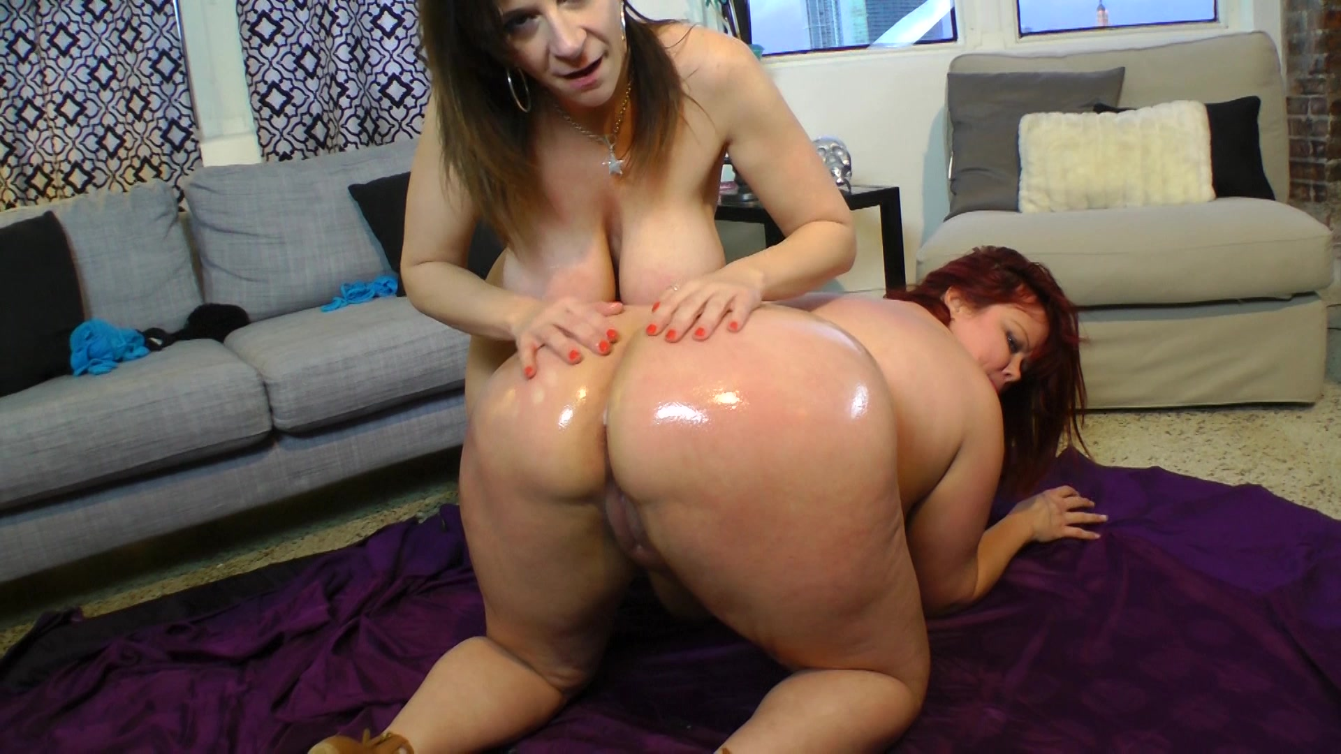 Home couple orgasm