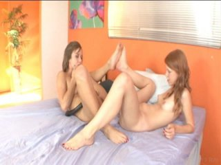 Streaming porn video still #9 from Girl On Girl Fantasies 3