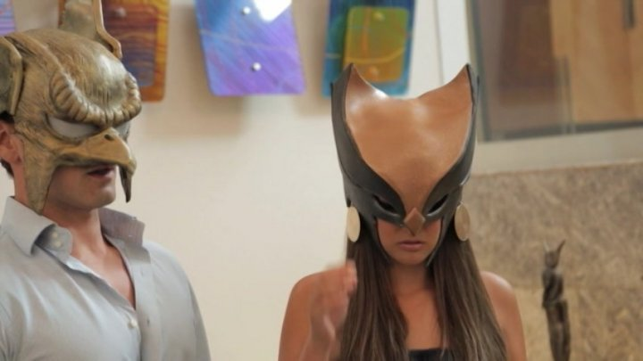 Streaming porn video still #5 from XXX Adventures Of Hawkman & Hawkgirl, The