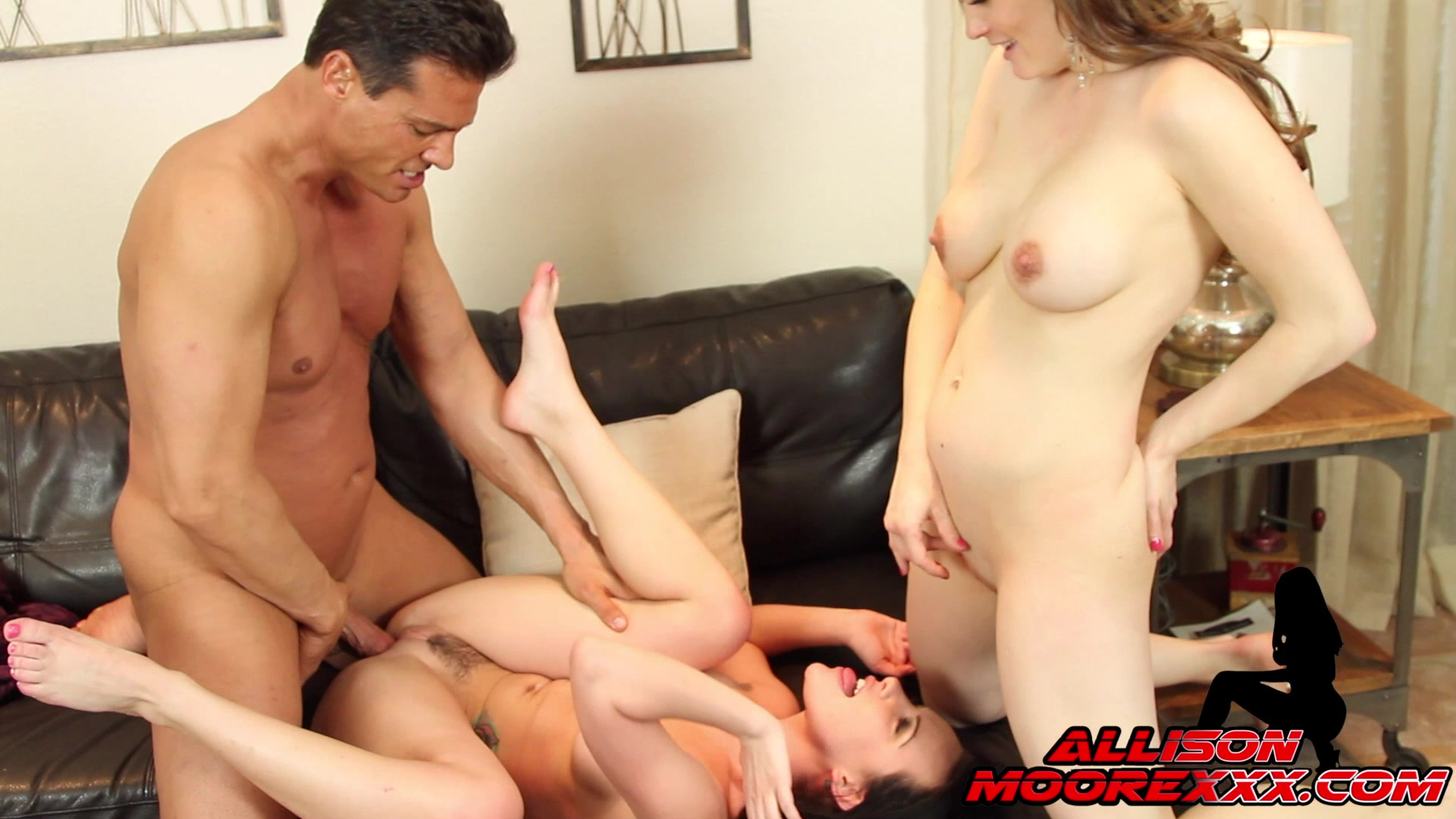 Allison and threesome and xxx