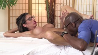 Streaming porn video still #3 from Interracial Massage
