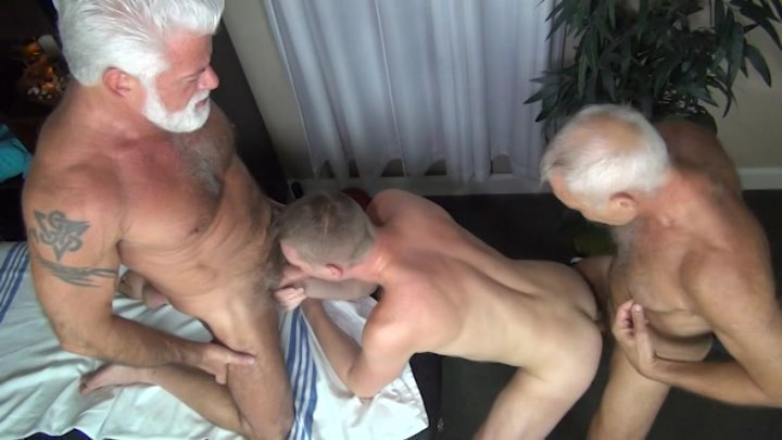 Streaming porn video still #4 from Rocco Steele's Dad's Bareback Massage