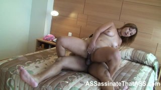 Streaming porn video still #7 from ASSassinate That Ass In Brazil