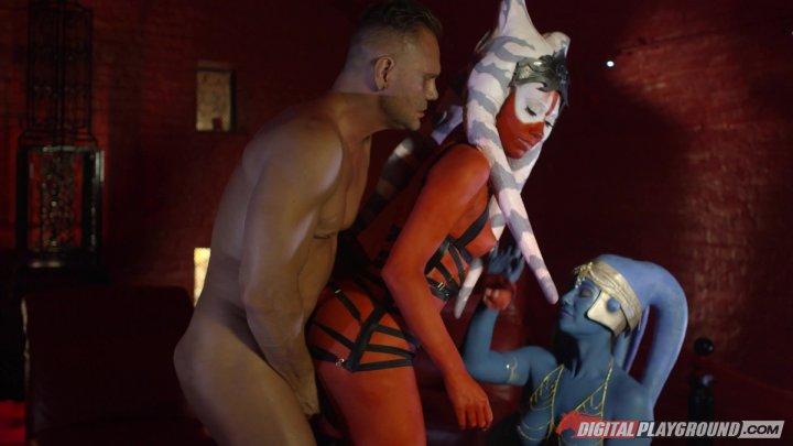 Streaming porn video still #5 from Star Wars Underworld: A XXX Parody