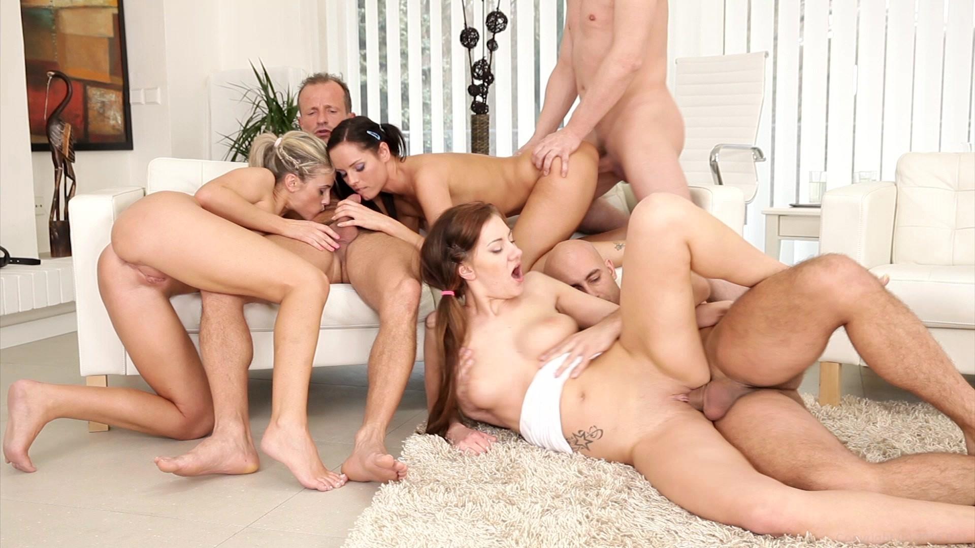 Free Anal Group Orgy Porn Pics