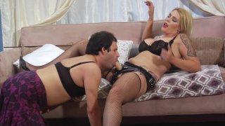 Streaming porn video still #2 from Kink School: A Guide To Sissy Slut Play - Sissy Coerced Bi