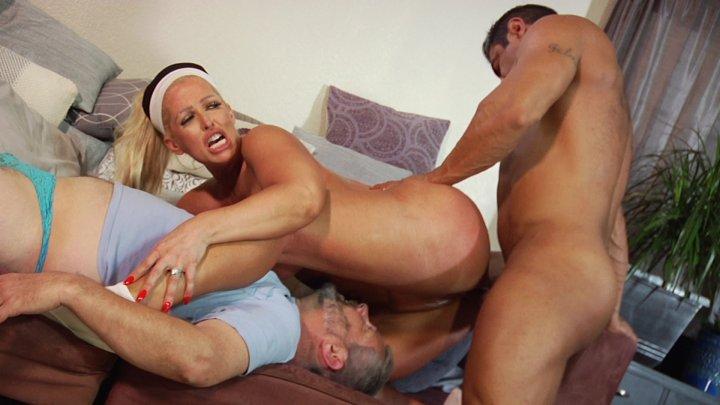 Streaming porn video still #2 from Kinky Cuckold 4