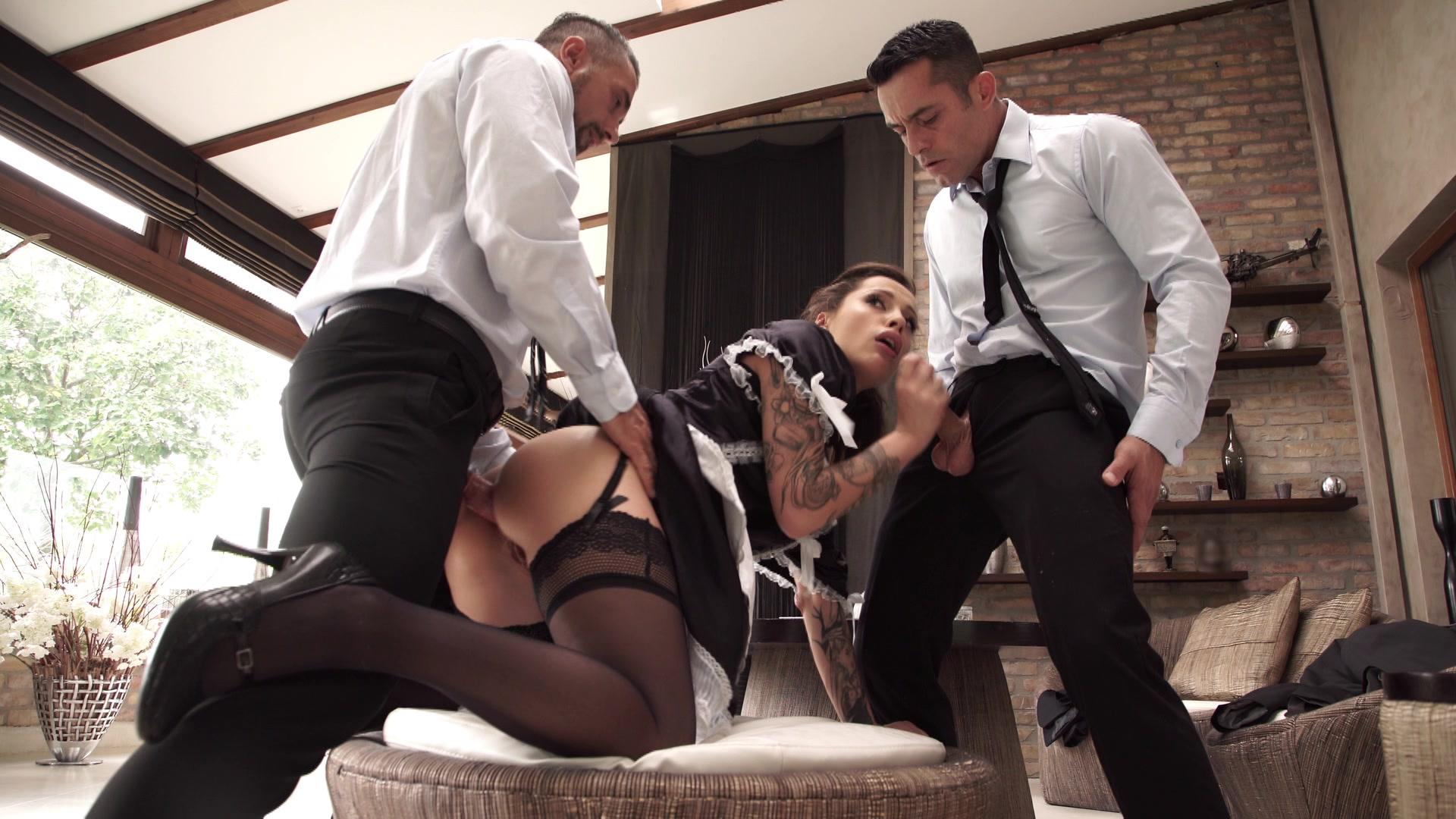 Maid fucked by boss porn pics