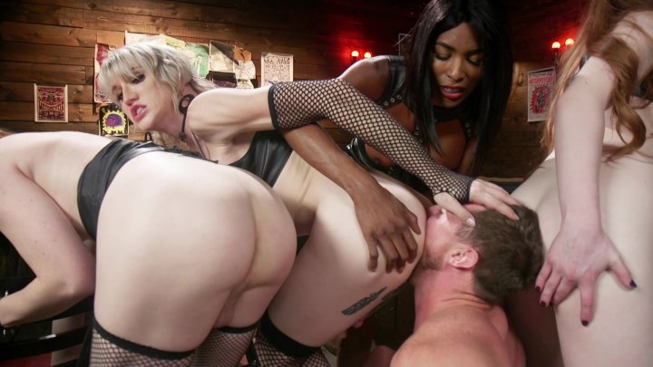 Streaming porn video still #1 from Slag Angels On Wheels