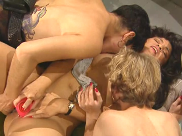 Streaming porn video still #10 from 3's A Lesbian Party