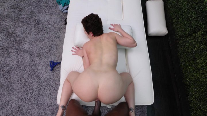 Streaming porn video still #1 from Interracial Casting Couch 36