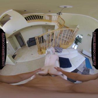 4 Ft 8 Tiny Blonde Haley Loves Huge Cocks video capture Image