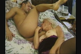Streaming porn scene video image #6 from Sexy granny screwed by horny nephew