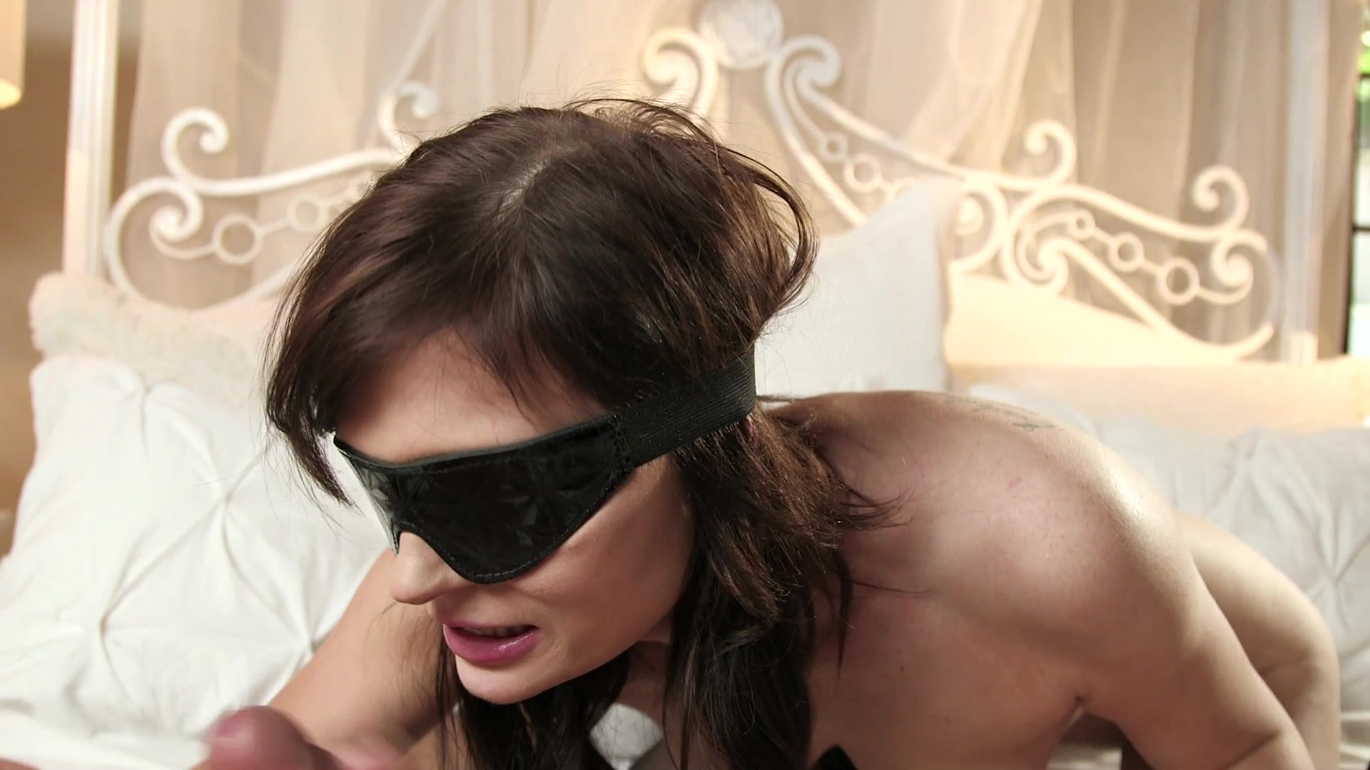 Blindfolded wife videos