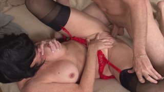 Streaming porn video still #9 from Mothers Forbidden Romances #4