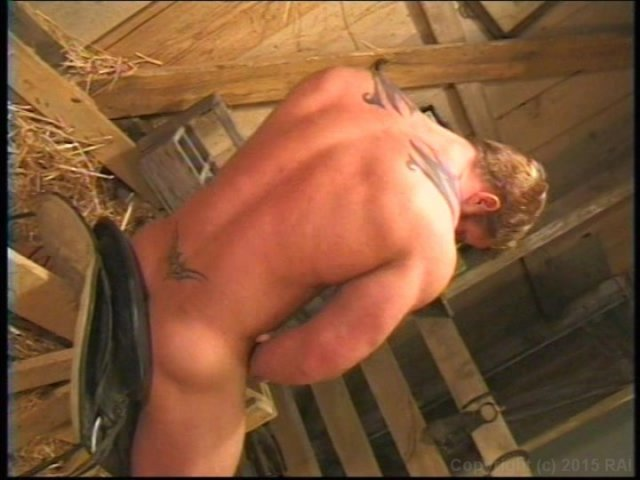 Awesome gay ranchers in great gay sex scene