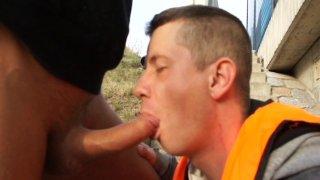 Streaming porn video still #8 from Bareback Fucks For 50 Bucks