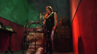 Streaming porn video still #5 from Elena De Luca: Brigadier General, Black Stiletto Army
