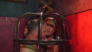 Streaming porn video still #6 from Elena De Luca: Brigadier General, Black Stiletto Army