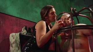 Streaming porn video still #8 from Elena De Luca: Brigadier General, Black Stiletto Army