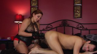 Streaming porn video still #7 from Elena De Luca: Brigadier General, Black Stiletto Army