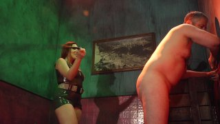 Streaming porn video still #9 from Elena De Luca: Brigadier General, Black Stiletto Army