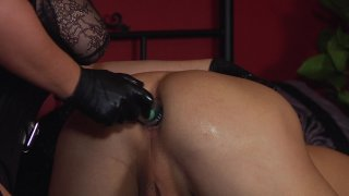 Streaming porn video still #4 from Elena De Luca: Brigadier General, Black Stiletto Army