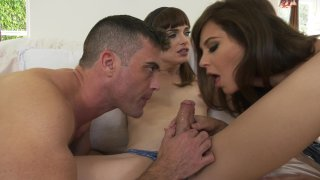 Streaming porn video still #17 from Menage A Tranny