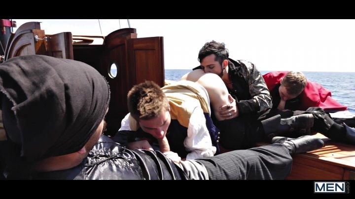 Streaming porn video still #1 from Pirates: A Gay XXX Parody