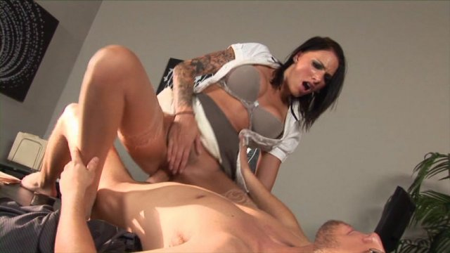 Streaming porn video still #1 from Ball Busting Brunettes