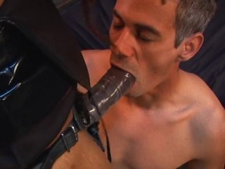 Streaming porn video still #6 from Pegged By A Black Girl