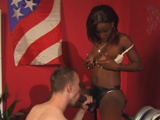 Streaming porn video still #2 from Pegged By A Black Girl