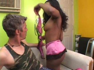 Streaming porn video still #1 from Pegged By A Black Girl