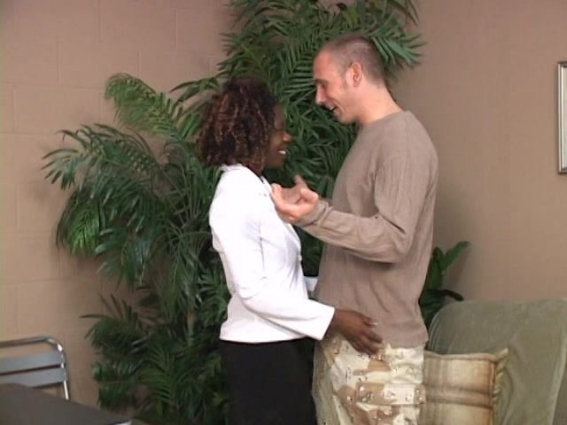 Streaming porn video still #3 from Pegged By A Black Girl