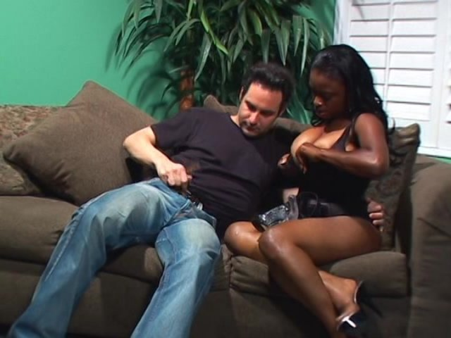 Streaming porn video still #4 from Pegged By A Black Girl