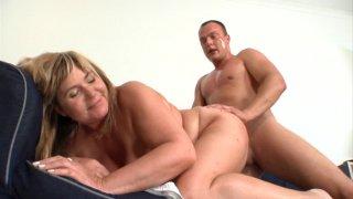 Streaming porn video still #2 from Grandma Loves Cock 4