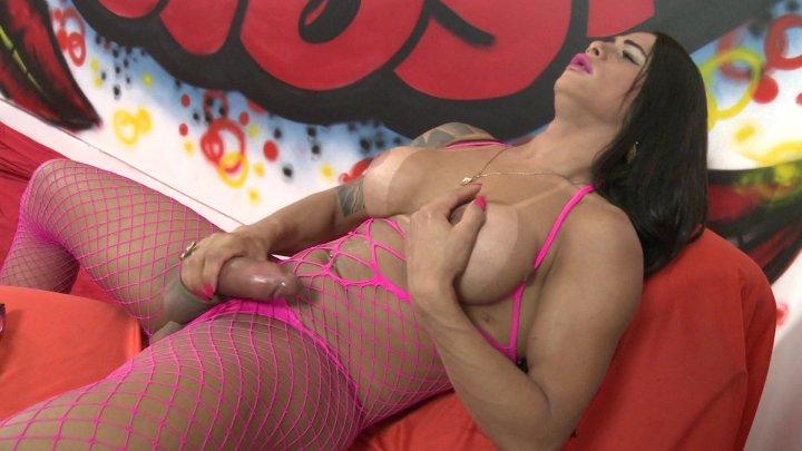 Streaming porn video still #1 from Brazilian TS Trans Solo Fantasies