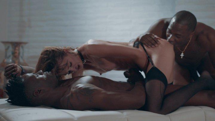Streaming porn video still #4 from Interracial DP Vol. 3