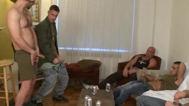 Streaming porn video still #8 from Deployed Dads