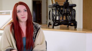 Pretty Redhead Avalon Aries Receives Oral Pleasure from James Deen