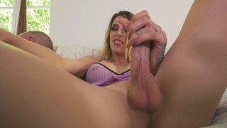 Streaming porn video still #1 from Transsexual Monster Cocks