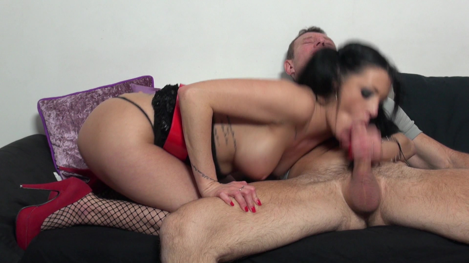 French anal cock slide