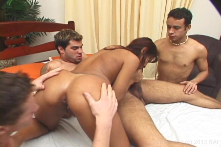 Free Video Preview image 3 from Bi Group Sex Club 6
